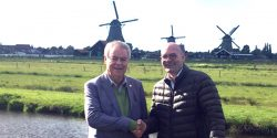 FIP president meets IFSDA president in Holland